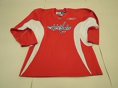 Ice hockey jersey shirt NHL, Washington Capitals, mens, medium, red