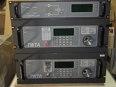 Xicom 500W DBS-Band Indoor TWTA complete 1+1 system