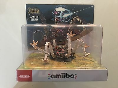 Guardian Amiibo - Zelda Breath Of The Wild - RARE