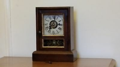 Seth Thomas Alarm clock. c1890. Working order.