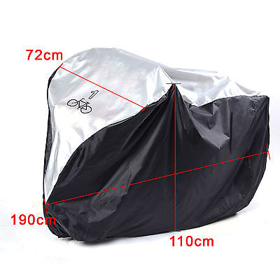 Waterproof Rain Cover Single 1 Bike Bicycle Scooter Dust Cover Protector Garage