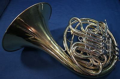 1969 Reynolds Contempora Kruspe Wrap Double French Horn with Case and Mouthpiece