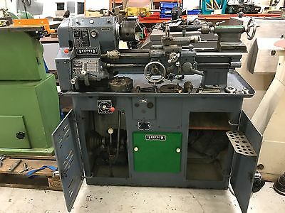 "Boxford Model A 4 1/2"" Imperial Metal Screwcutting Lathe"