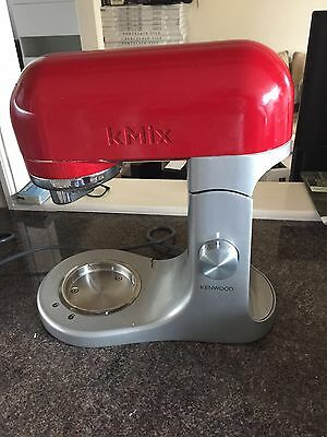 Kenwood KMix Red Stand Mixer Base only  5L KMX5 Spares Or Repairs Working
