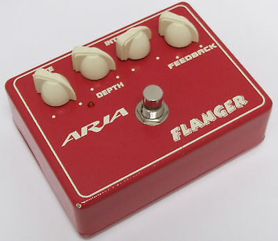 ARIA FL-10 Flanger Pedal - RED - FREE UK POSTAGE!!