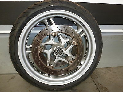 BMW K1200RS (ABS) 1997 Front Wheel with Discs 17 x 3.5""