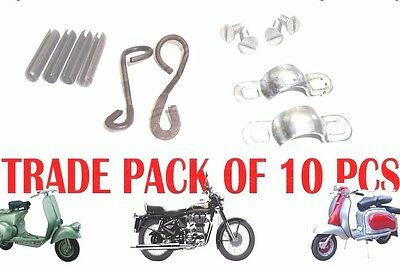 10 X Lambretta Handle Rod Fixing Kit Gp Li Series 2 & 3 @aud