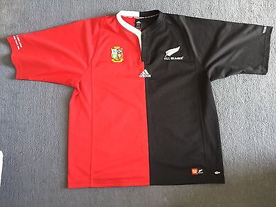 All Blacks Vs British And Irish Lions Tour 2005 Rugby Shirt XXL