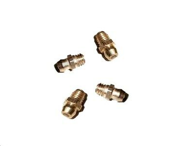Lambretta Grease Nipples Pack Of 4 Fork Link Bolts @aud