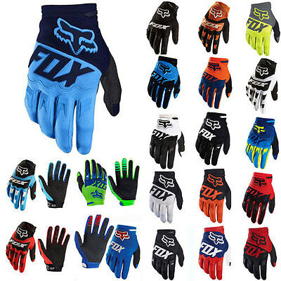 MTB Cycling Bicycle Bike Motorcycle Sports Glove Offroad Full Finger FOX Gloves