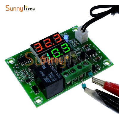 Dual LED Digital 12V Multi-function Cycle Timer Relay Module Delay Time Switch