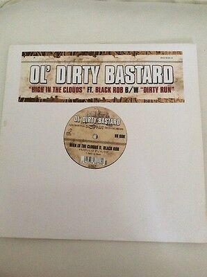 OL' DIRTY BASTARD Record Vinyl Hip Hop Old Old School Skool High In The Clouds