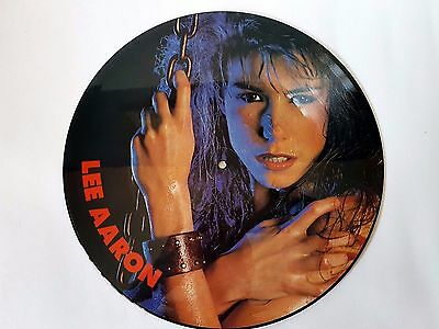 LEE AARON  - BARELY HOLDIN ON PICTURE DISC 12 inch 1985