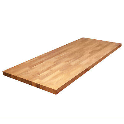 Oak Worktop - Solid Wood Kitchen Counter Tops and Breakfast Bar Wooden Surfaces