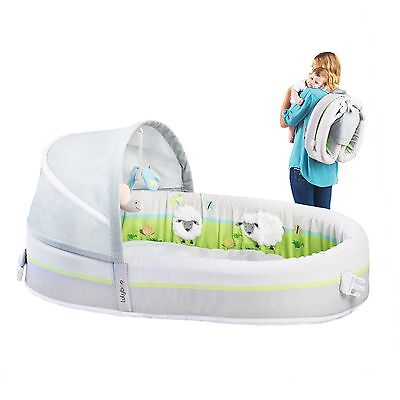 Lulyboo® Baby Lounge Premium Travel Bed