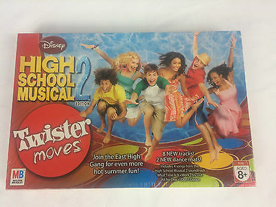 Disney High School Musical 2 Twister Moves Dancing Party New & Sealed