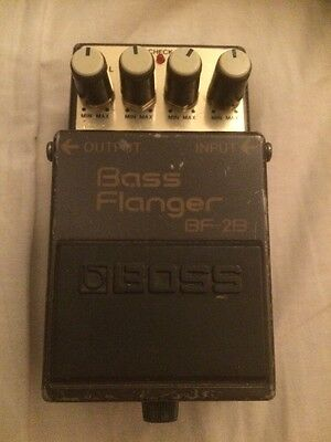 Vintage Boss BF-2B ACA Bass Flanger, Green Label, Fully Working