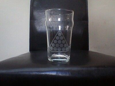 Snooker Pool Sports Personalised Etched Engraved Beer Pint Glass