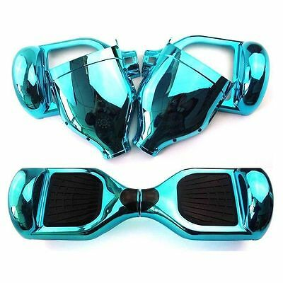 "6.5"" Cyan Self Balance Electric Scooter Hover Board Replacement Cover Case Shell"