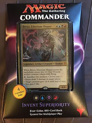 Brand New - Invent Superiority - 2016 Commander Deck - Free Express Shipping
