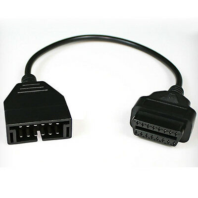 OBD2 Diagnostic Cable For GM 12pin to OBD1 OBD2 Connector Cable Adapter