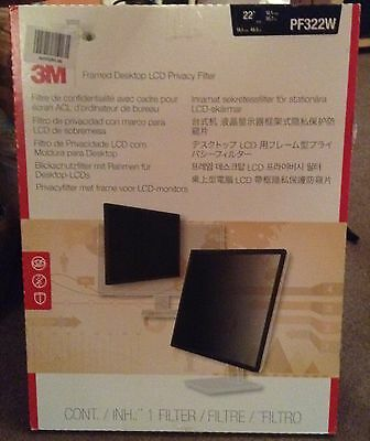 3M Privacy Filter PF322W