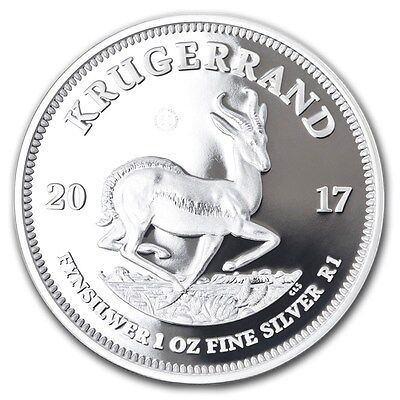 2017 Proof Silver Krugerrand 1oz coin only 15000 South Africa Mint