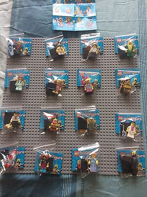Lego Series 17 Minifigures Full Complete Set Brand New