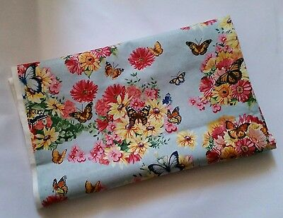 Dream Garden Floral Cotton fabric 1 meter Out of Print