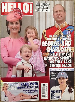 Hello Magazine 1487 26/06/17 Kate Middleton The Queen Trooping The Colour