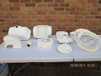 Lambretta  Frame Sil And Assorted Parts