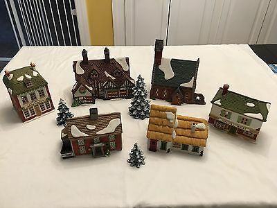 Department 56 Heritage Dickens New England Village Lot of 9
