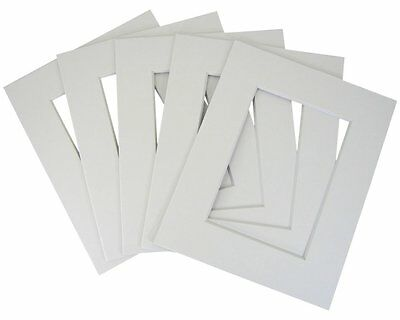 Set of 30 16x20 8-ply white mat for 11x14 photo w/ Back + bag