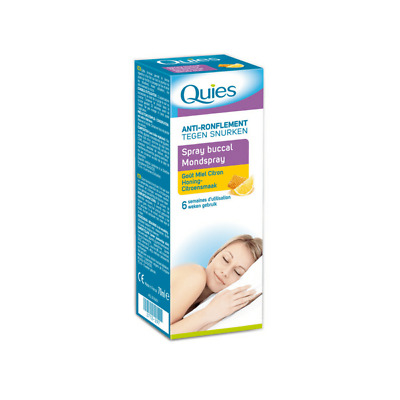 Spray Bucal QUIES - Anti-Ronflement - 70 mlQuies