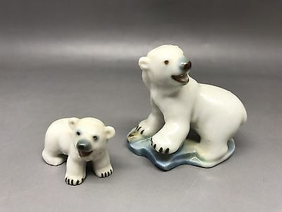 Wade Whimsies Polar Bear & Cub