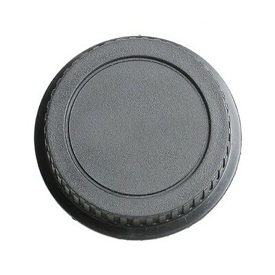 10x(Rear Lens Cap Cover for Canon Rebel EOS EFS EF EF-S EF DSLR SLR Black B X7M6