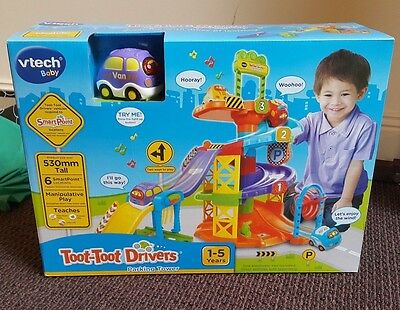 NEW Vtech Baby Toot Toot Drivers Parking Tower 1-5 years