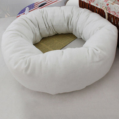 4Pcs/Set Baby Newborn Pillow Basket Filler Wheat Donut Photography Props SU
