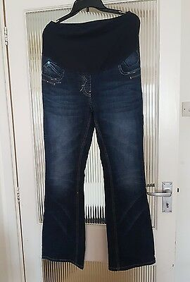 Maternity jeans size 10R from Next.