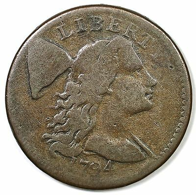 1794 S-61 R-4 Liberty Cap Large Cent Coin 1c
