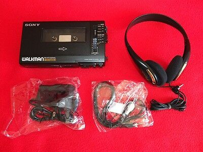 Sony Walkman Professional WM-D6C TC-D6C WM-DC6 HP-A270A DC Adaptor Audiocable