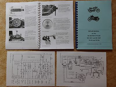 Repair Manual WORKSHOP MANUAL MZ ES 125/1 150/1 TS 125 150 English