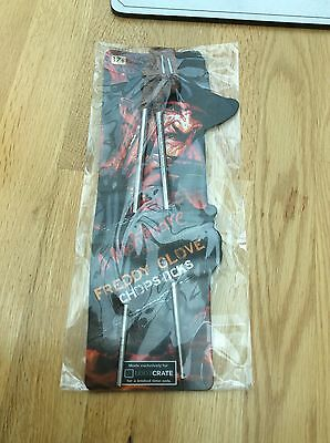 A Nightmare On Elm Street Freddy Glove Chopsticks - LootCrate Exclusive