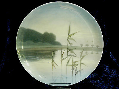 "Antique Royal Copenhagen ""Landscape"" Plate (1889 - 1922)"
