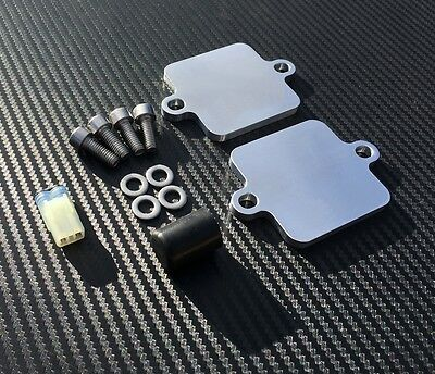 Yamaha MT10 FZ10 SMOG Blanking Plates PAIR AIS Eliminator Block Off MT-10 FZ-10