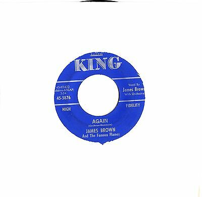 James Brown vinyl record  7inch 45rpm - (Again) - Funk / Nortern Soul