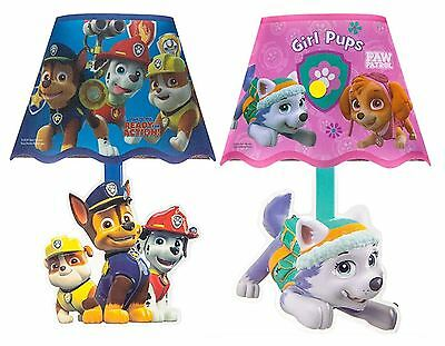 Paw Patrol Stick On Wall Lamp Kids Boys Girls Bedroom Bedside LED Night Light