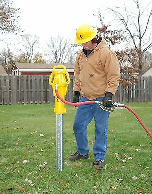 Rhino Pneumatic Post Driver Pd55 Fence Post Driver