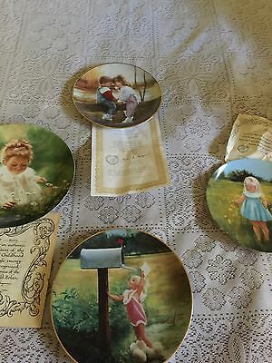Pemberton & Oakes World Of Zolan Plate Collection Lot Of 4 Plates