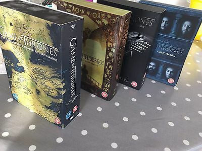 Game Of Thrones DVD Box Sets season 2-6